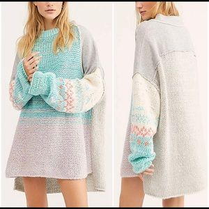 NWT Free People Polar Opposites Sweater size M